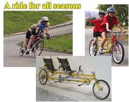 Longbikes - a ride for all seasons